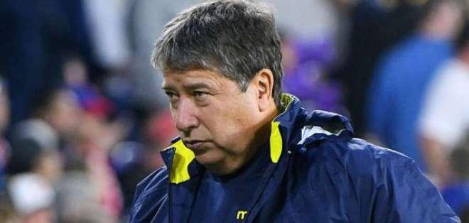 Hernán Darío Gómez, entrenador de Ecuador.
