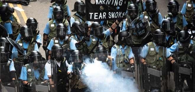 Ley de extradición a China desata violencia en Hong Kong. Foto: AFP