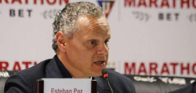 El directivo de Liga de Quito habló con Estadio y explicó que ese tema lo maneja el 'Toño'. Foto: Archivo