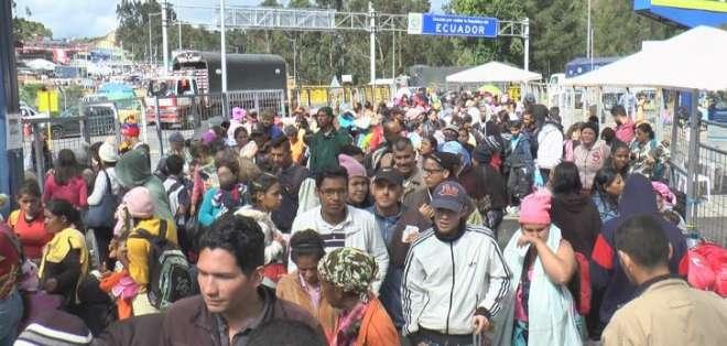 El gobierno peruano exigirá visa humanitaria a partir de este 15 de junio. Foto: Paola Andrade/Ecuavisa