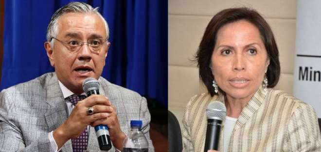 ECUADOR.- Alexis Mera y María de los Ángeles Duarte son procesados por el delito de concusión. Collage: Ecuavisa