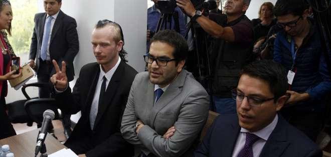 ECUADOR.- La defensa del ciudadano sueco presentará esta tarde un recurso de habeas corpus.. Foto: API