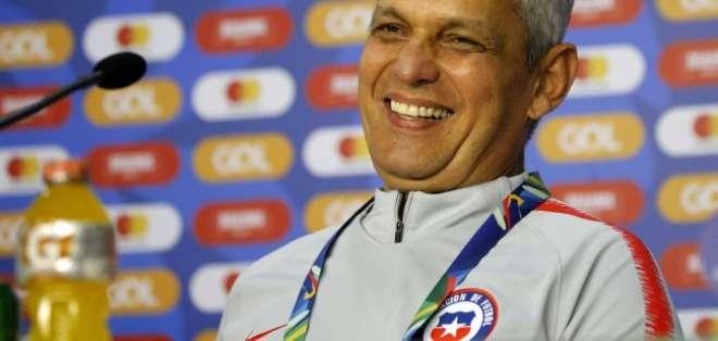 Reinaldo Rueda, DT de Chile.