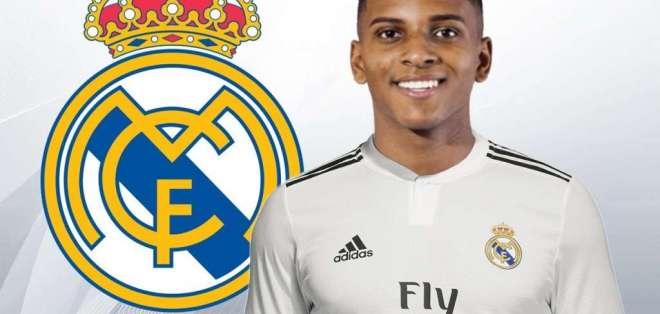 Rodrygo, figura del Real Madrid.