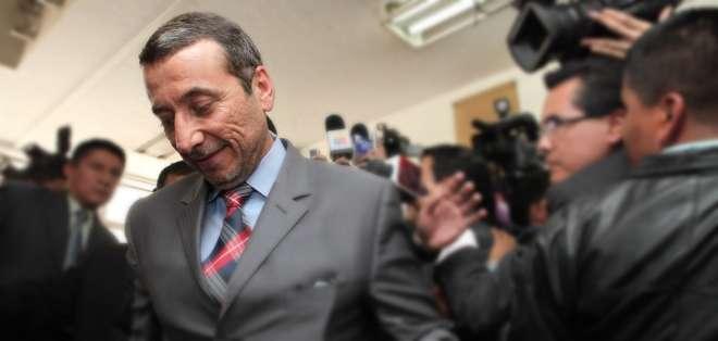 Alvarado tenía orden de detención con fines investigativos, pero luego fue revocada. Foto: Archivo/El Ciudadano