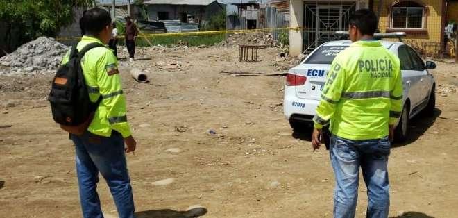 Este es el segundo asesinato de una mujer que se registra en El Oro en menos de 48 horas. Foto: @steevenmaciastv