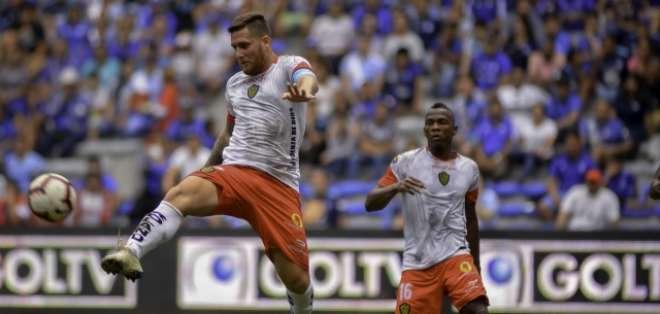 Francisco Silva, con la camiseta de Fuerza Amarilla.
