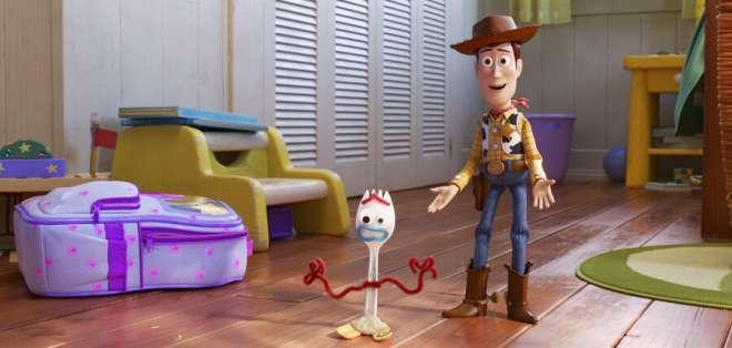 """""""Toy Story 4"""" recauda menos de lo esperado en su estreno. Foto: AP"""