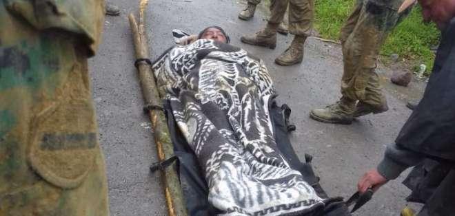 Milton P. estuvo 4 días varado en la carretera debido a los derrumbes en la zona. Foto: Cortesía