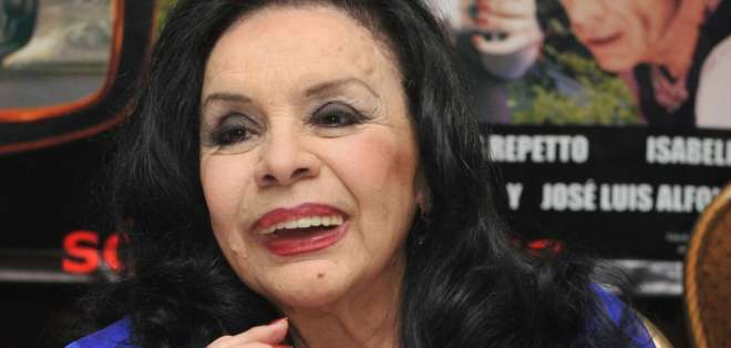 Muere la actriz Isabel Sarli, ícono del cine argentino. Foto: AFP