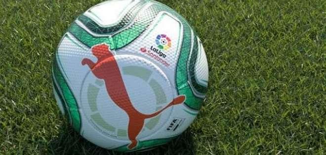El nuevo balón con el que se jugará en España.