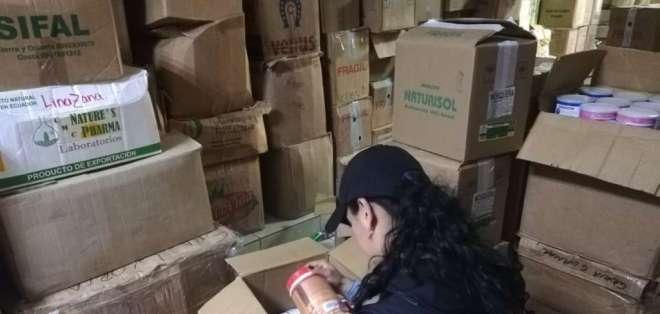 Fueron 207 productos como colágeno, cloruro de magnesio y suplementos alimenticios. Foto: Arcsa
