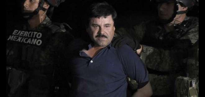 El exjefe del cartel de Sinaloa, de 62 años, será sentenciado el 17 de julio. Foto: AFP