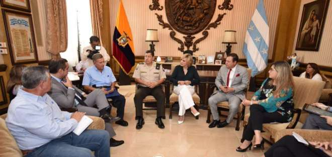Plan Más Seguridad vuelve a Guayaquil después de 11 años. Foto: Alcaldía de Guayaquil
