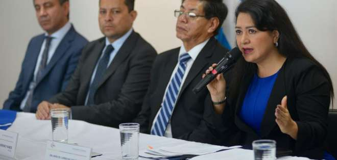 Maldonado indicó que el proceso no ha parado. Foto: API