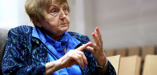 Eva Kor fue la fundadora del CANDLES Holocaust Museum and Education Center, en EEUU. Foto: AFP