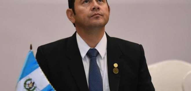 GUATEMALA.- Jimmy Morales cerró en Buenos Aires el proceso de compra de las aeronaves. Foto: Referencial