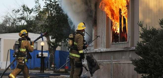 California, una zona sísmica de alto riesgo.Foto: AFP