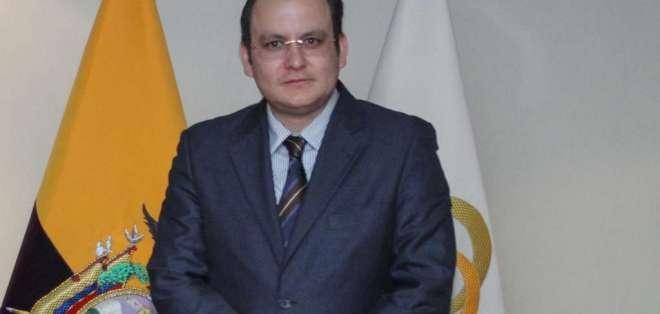 Leopoldo Quirós de la UAFE presentó en Judicatura queja y denuncia formal en el caso Diacelec. Foto: Archivo/Asamblea
