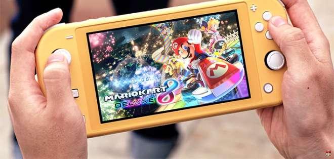 La Switch Lite está diseñada exclusivamente para ser móvil.
