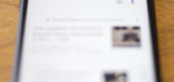 EEUU.- David Monsees, product manager del Buscador de Google, admitió la información a través del bolg de la compañía. Foto: AFP