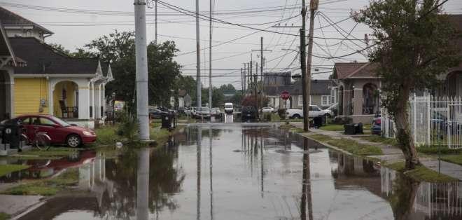 Si la tormenta se convierte en un huracán, podría ser el primero de la temporada. Foto: AFP