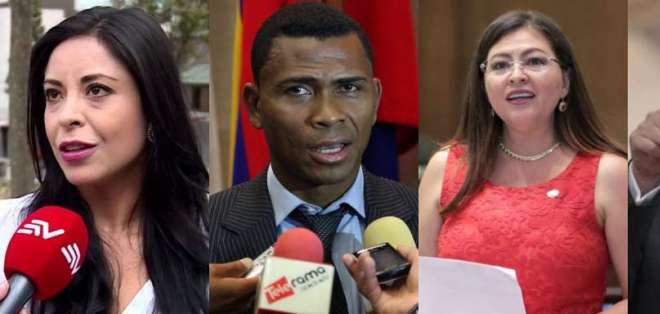 ECUADOR.- En lo que se conocía como 'Arroz verde', también fue convocado el exfiscal Carlos Baca y la exasambleísta Sofía Espín.
