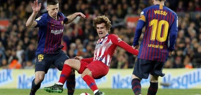 El equipo español, mediante su abogado, argumenta que el valor a pagar es de 200 millones. Foto: PAU BARRENA / AFP