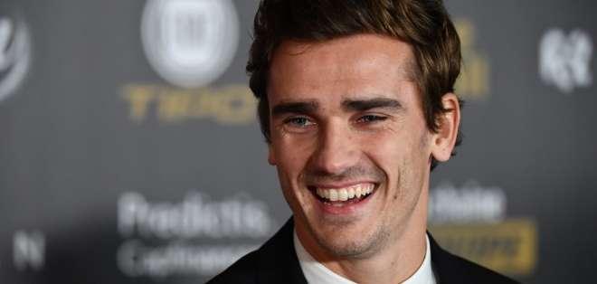 El equipo español fichó al delantero francés hasta el 2024. Foto: FRANCK FIFE / AFP