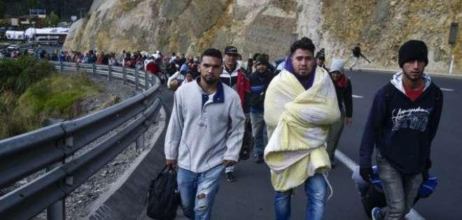 Cerca de 1,7 millones de venezolanos han ingresado al país por el puente Rumichaca. Foto: AFP (referencial)