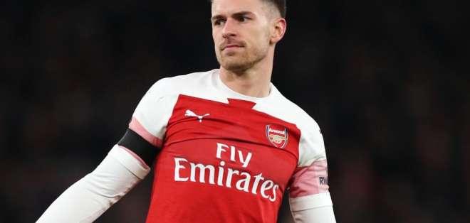 Aaron Ramsey, exfigura del Arsenal.