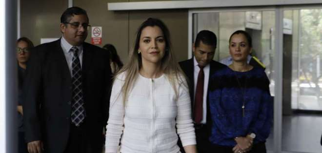 QUITO, Ecuador.- El nombre de la asambleísta figura en el archivo 'Verde final', que investiga la Fiscalía. Foto: API