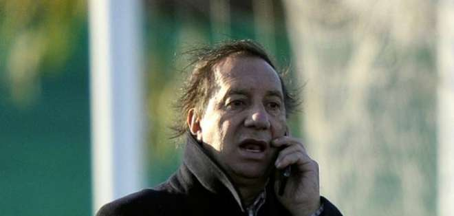 Carlos Bilardo, exentrenador argentino. Foto: AFP