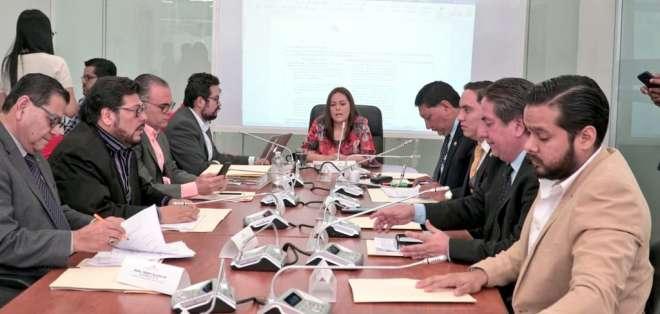 ECUADOR.- La comisión de Fiscalización tomará conocimiento de los trámites de juicio político contra CPCCS. Foto: Asamblea