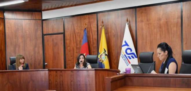 La jueza Patricia Guaicha del Tribunal Contencioso Electoral. Foto: TCE