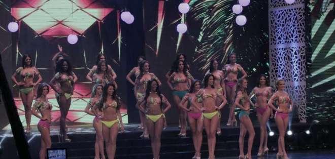 En el certamen de belleza realizado en Guayaquil participaron 21 candidatas. Foto: Franklin Navarro / Ecuavisa