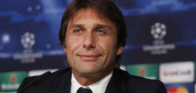 Antonio Conte, entrenador del Inter de Milán.