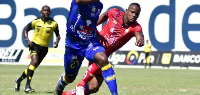 Pedro Pablo Perlaza, jugador de Delfìn. FOTO: API