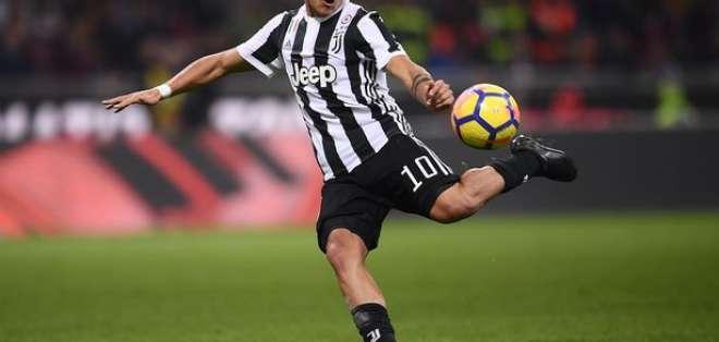 Paulo Dybala, jugador de la Juventus de Turín. FOTO: AFP