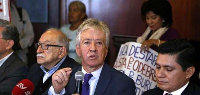 ECUADOR.- Según el representante, las 17 denuncias presentadas en 4 años siguen en indagación previa. Foto: Archivo