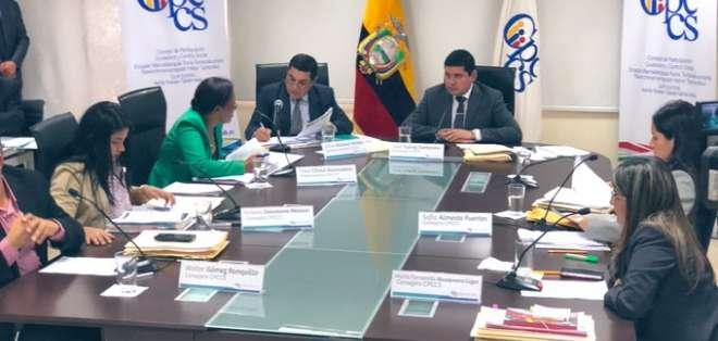 Según Iván Granda, los miembros del CPCCS han incumplido normas. Foto: CPCCS