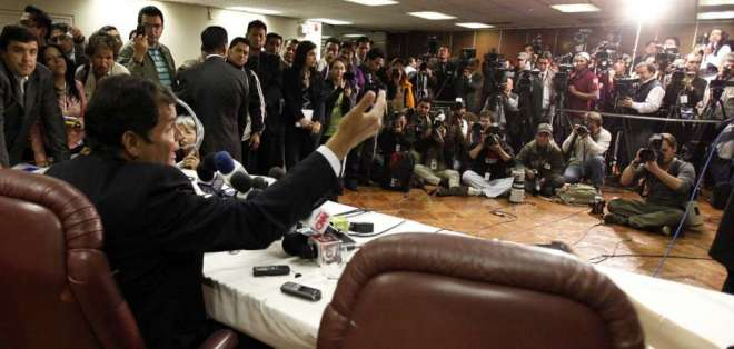 Muchos casos se definieron en despacho presidencial, según documentos. Foto: Archivo El Ciudadano