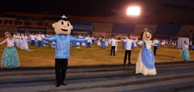 Guayaquil cierra fiestas julianas con tributo a la juventud. Foto: Municipio de Guayaquil