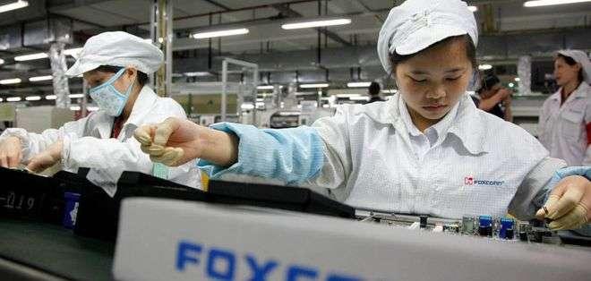 La mayoría de los iPhones se ensamblan en una empresa de un grupo taiwanés.