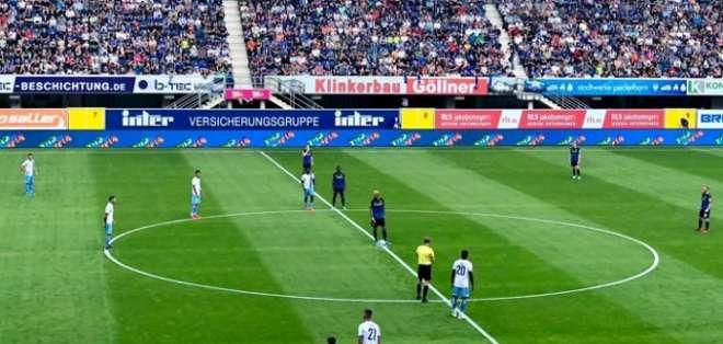 Partido de la Lazio en Alemania. Foto: Twitter Paderborn.