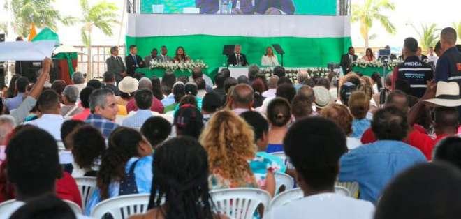 Presidente Moreno pide paciencia por pago de incentivos jubilares. Foto: Comunicación Ecuador