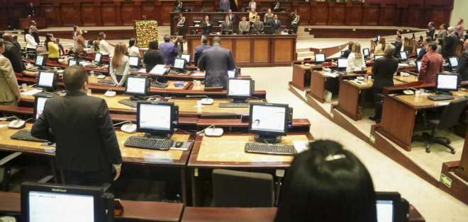 Socialcristianos acordaron no votar a favor del proyecto legal. Foto: Flickr Asamblea