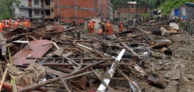 El balance por el tifón Lekima en China aumenta a 32 muertos. Foto: AFP