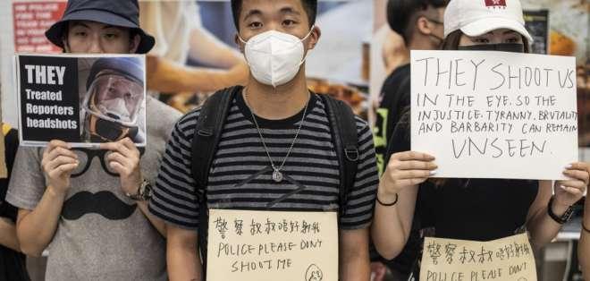 Pekín ha endurecido el tono de su discurso y sus amenazas de intervención. Foto: AFP