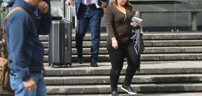 Las conversaciones con Wendy Molina constan en celular de exasesora de Correa. Foto: Archivo API